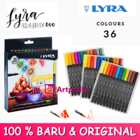 Lyra Aqua Brush Duo Dual Pen 36 Colors Set / LYRA Aqua Brush Duo 36