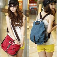 TS90 Korea Sytle Three function bag / Tas Selempang Wanita