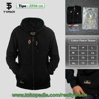 Sweater Hoodie Zipper Motif Typisch - Cotton Fleece Taiwan