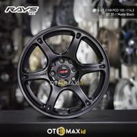 Velg Mobil Rays (635) Ring 16 Matte Black