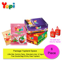 Package Yupiland Space 2019