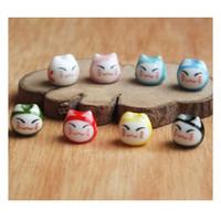 Ceramic Porselen Kucing Kecil - Beads Mote Manik Monte Charm Aksesoris