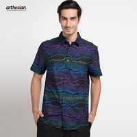 [Arthesian] Kemeja Batik Pria - Danish Batik Printing