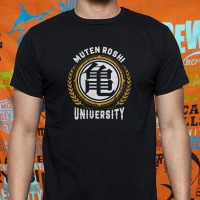 Kaos Baju Tshirt DRAGON BALL MUTEN ROSHI UNIVERSITY