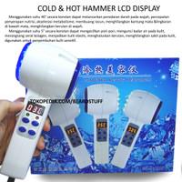 Hot Cold Hammer Alat Setrika Wajah LCD Display