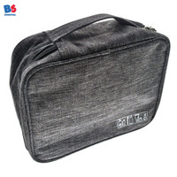 Accessories Bag (Travel Charge) Grey | Multi Purpose Pouch Tas Aksesor