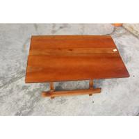 meja belajar lipat kayu