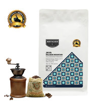 BIJI KOPI ARABIKA JAVA MALABAR FULLWASHED - 500GR NORTHSIDER COFFEE