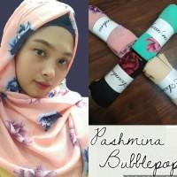 jilbab pashmina diamond cerutti motif segi empat bukan instan rawis