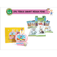 ENGLISH TIME ROKET FREE SMART RESSA PINK