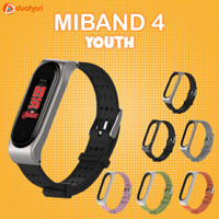 MIJOBS Young Version Strap Gelang MiBand 4 Replacement Case MI band 4