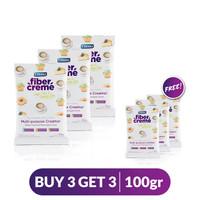 Buy 3 Get 3 FiberCreme Sachet 100gr