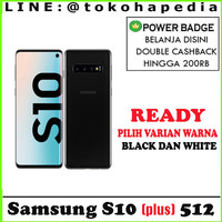 SAMSUNG GALAXY S10 PLUS 512GB / 512 GARANSI SAMSUNG INTERNASIONAL 1 TH