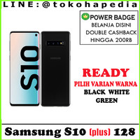 SAMSUNG GALAXY S10 PLUS 128GB / 128 GARANSI SAMSUNG INTERNASIONAL 1 TH
