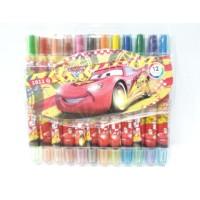 Crayon Putar Isi 12 Karakter Cars Mewarnai Anak Laki-Laki A