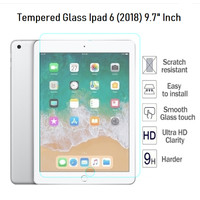 APPLE IPAD 6 - 2018 - PREMIUM TEMPERED GLASS 9,7 inch