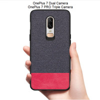 YZ OnePlus 7 / OnePlus 7 PRO - Fabric Denim Style Back Cover Case