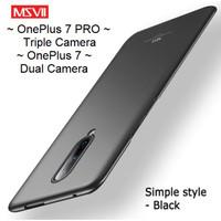 MSVII OnePlus 7 / OnePlus 7 PRO - Luxury Slim Matte Hardcase