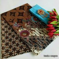 Batik Sabi / Kain Batik set Embos / Kain Batik / Batik KSE-20