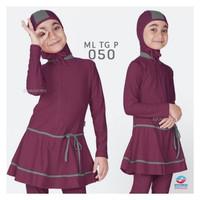 Baju Renang Anak SD Muslim Muslimah Ukuran M, L dan XL ML-TG-P-004