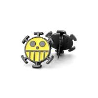 ONE PIECE Skull Metal Enamel Pin and Brooch Backpack Bag