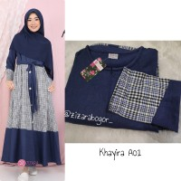 ZIZARA KHAYIRA DRESS A01 GAMIS ONLY