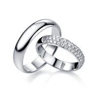 Tiaria Queen Cincin Tunangan Pernikahan Emas Berlian Women Only