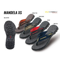 Sendal Connec MANDELA XS Sandal Jepit Casual Pria Cowok MEN Original