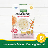 PROMINA 8+ Homemade Bubur Salmon Kentang Wortel Box - 100gr