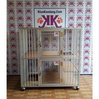 Kandang Kucing Alumunium Tipe KKC-07 (90X60X90)