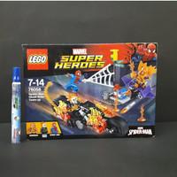Lego Marvel Super Heroes Spiderman Ghost Rider Team Up - 76058