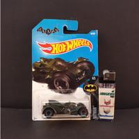 Pajangan Mainan Diecast Hotwheels Murah Arkham Knight Batmobile
