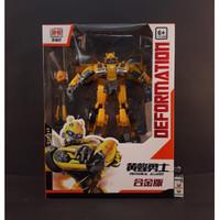 Mainan Transformers Deformation Big Bug Bumblebee VW KO 28 CM BMB