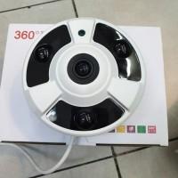 kamera cctv fisheye / kamera 360 derajat panoramic 2mp 1080p