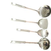 Spatula set isi 4 Kitchen tool peralatan dapur stainless
