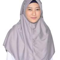 Rabbani Kerudung Jilbab Sekolah Khimar Instan Bergo Scarf Hemy L Best