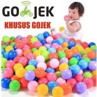 Mandi bola plastik anak anak 100 pcs mainan bola anak