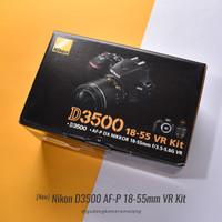 NEW - Nikon D3500 Kit AF-P DX 18-55mm - Gudang Kamera Malang