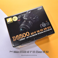 [New] Nikon D5500 Kit AFP 18-55mm VR @Gudang Kamera Malang