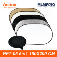 GODOX 5 IN 1 150x200CM COLLAPSIBLE REFLECTOR RFT-05 5IN1 OVAL 150x200