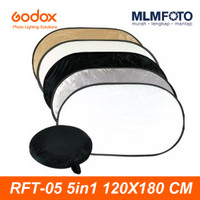 GODOX 5 IN 1 120x180CM COLLAPSIBLE REFLECTOR RFT-05 5IN1 OVAL 120x180