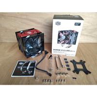 Heatsink Fan Cooler Master Hyper 212 LED TURBO DUAL FAN HSF