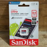 Memory Card 64GB 100MBps SanDisk Ultra microSDXC Class 10 A1 - ORI