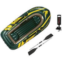 Intex Seahawk 3 Set. Perahu Karet Pancing + Dayung + Pompa 68380