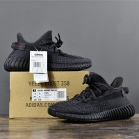 Yeezy 350 V2 Black (UNAUTHORIZED AUTHENTIC)