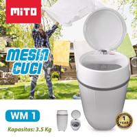 Mito WM1 - Mesin Cuci Mini Portable 3,5 KG