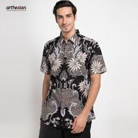 [Arthesian] Kemeja Batik Pria - Keane Batik Printing