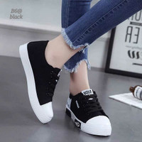 New Arrival... Cat Design Ladies Sneakers Fashion korea Shoes FLS-B6