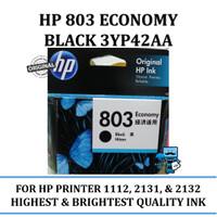 Tinta HP 803 Black Economy 3yp42aa Original Ink