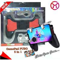 Gamepad Pubg 5 in 1 Stick Game Kontrol Stent Trigger 2 Tombol